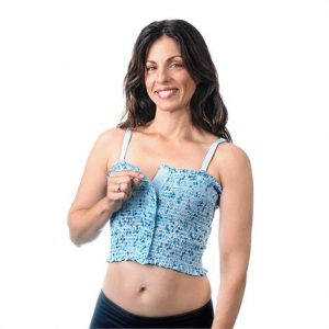 Expand-A-Band Breast Binders - Lined Floral