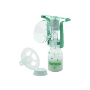 Ameda One-Hand Manual Breast Pump With Flexishield,Breast Pump,Each,17066
