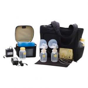 "Medela Pump In Style Advanced Breastpump With Metro Bag,16-1/2"" X 8"" X 11-3/4"",Each,57036"