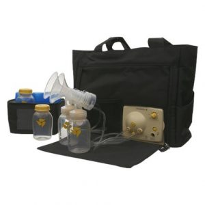 "Medela Pump In Style Advanced Breastpump With On The Go Tote,14"" X 6-7/8"" X 11-1/2"",Each,57063"