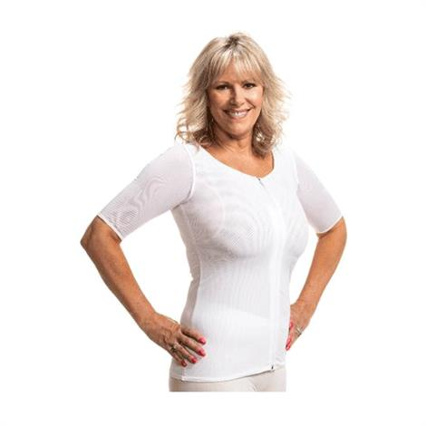 Wear Ease Andrea Compression Shirt With No Pads,1X,Each,962
