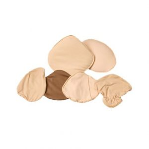 Full Triangle Comfort Covers,Size 3,Beige,Each,18-005-03