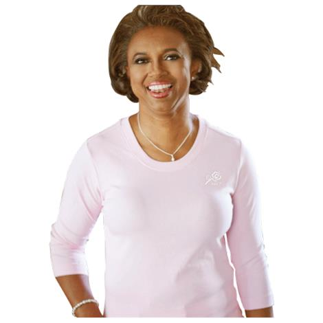 Abc 3/4 Sleeve Scoop Neck Shirt,3/4 Sleeve Scoop Neck Shirt,Small,Each,Clo1001-S
