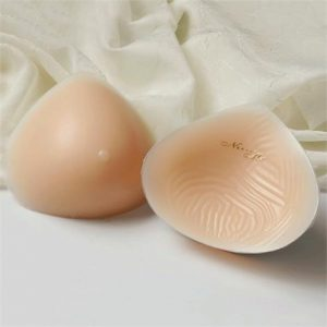 Nearly Me 860 Basic Modified Triangle Breast Form,Nearly Me 860,Size 8,Each,17-039-08