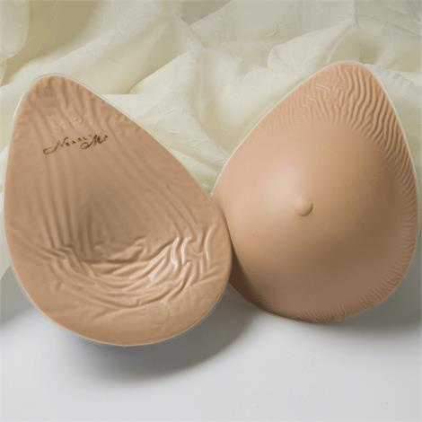 Nearly Me 245 Lites Full Oval Breast Form,Nearly Me 245,Size 4,Each,19-407-04