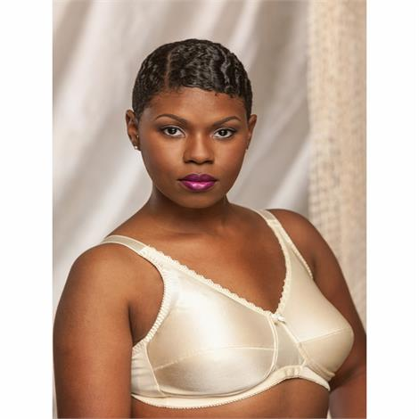 Nearly Me 630 Plain Soft Cup Beige Mastectomy Bra