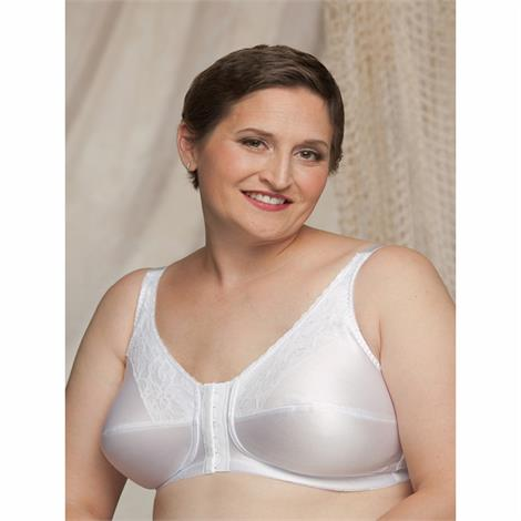 Nearly Me 670 Lace Front Closure Mastectomy Bra