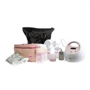S2 Plus Double Electric Breast Pump With Tote And Cooler,Pink,Each,Mm011305-Tc