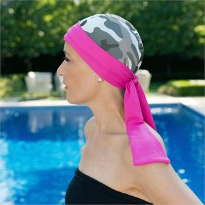 Bwell 11 Bandiva Turbans And Headscarves,Pink Bullseye,Each,Pk