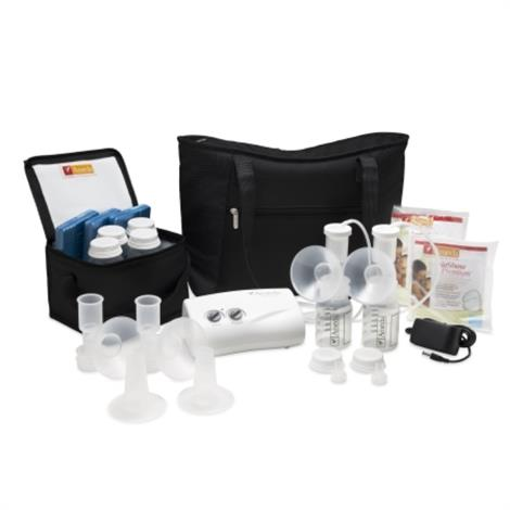 Ameda Finesse Double Electric Breast Pump System, With Dottie Tote,Pump System,Each,101A07