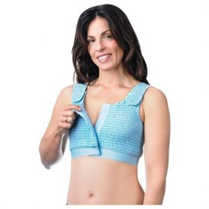 "Expand-A-Band Light Blue Compression Bra,X-Large,40"" To 45"",Each,Cbra-Lb-Xl"