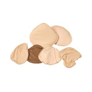 General Triangle Comfort Covers For Lightweight Breast Forms,Size 2,Each,17-910-02
