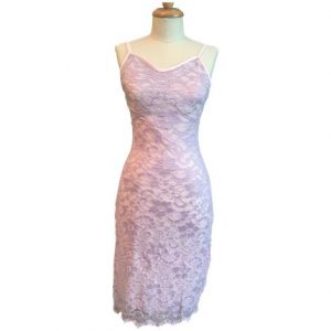 Still You Lilac Lace Gown,1X-Large,Each,15L01105