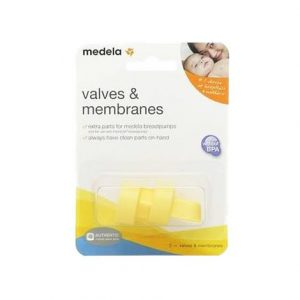 Medela Extra Valves And Membranes,2 Valves And 2 Membranes,Each,87089